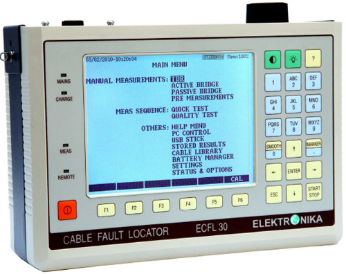 ECFL 30 - CABLE FAULT LOCATOR